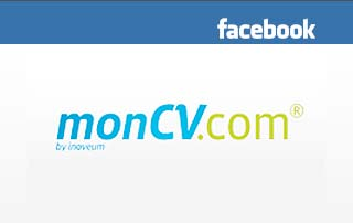 monCV.com on facebook