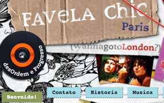 Favela chic : wordpress theme
